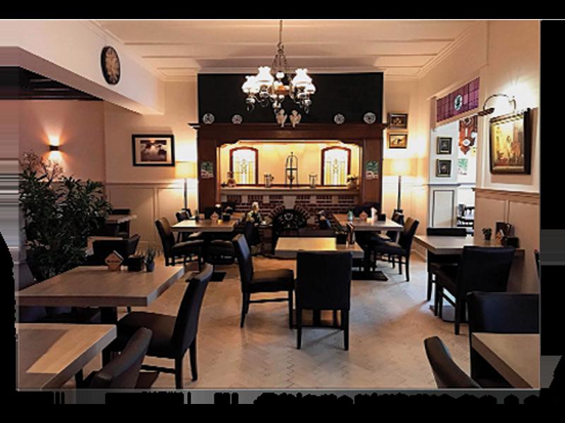 Koffiehuis Martens Interieur