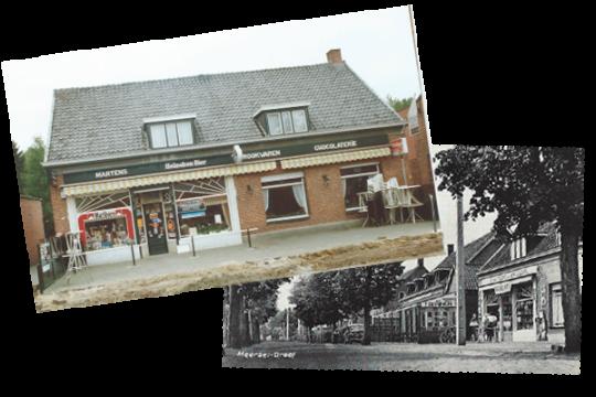 Koffiehuis Martens Beelden Vroeger